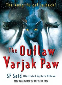 the outlaw varjak paw book cover