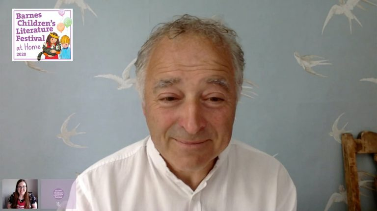 Frank Cottrell-Boyce at home