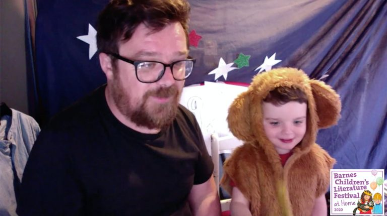 David lichfield and a little bear