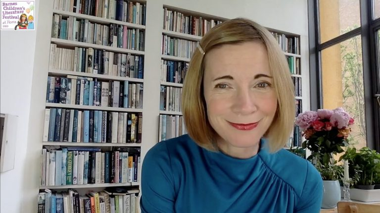 Lucy Worsley at home for barnes