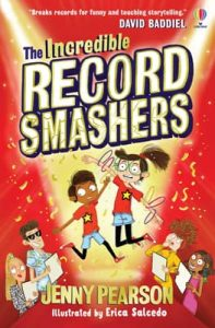 The Incredible Record Smashers book cover