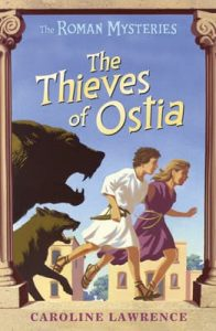 The thieves of Ostia book cover
