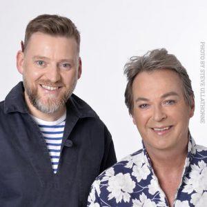 Julian Clary and David Roberts photo