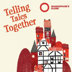 shakespears globe theatre telling tales logo
