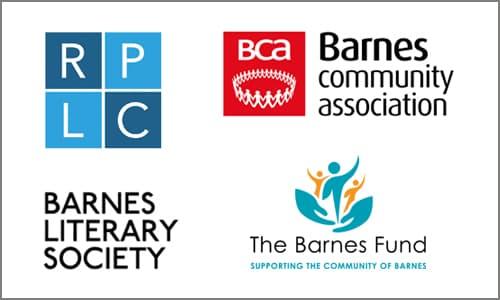 RPLC BCA Barnes Literary society and barnes fund logos