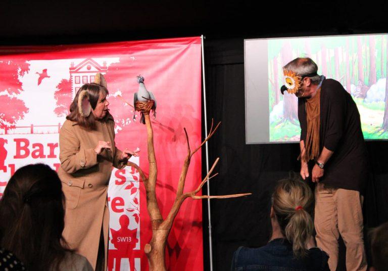 julia donaldson and axel scheffler at barnes festival