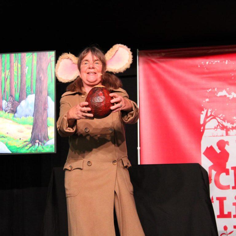 julia donaldson at barnes festival