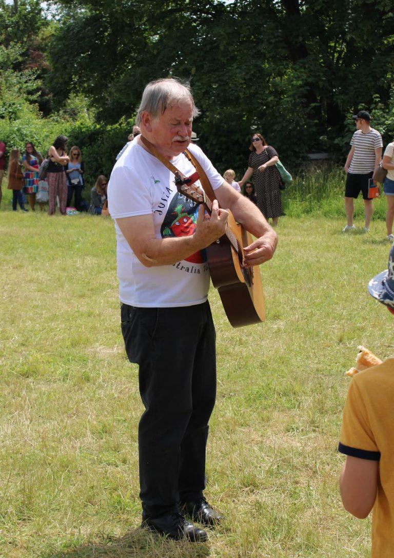 malcom donaldson at barnes festival