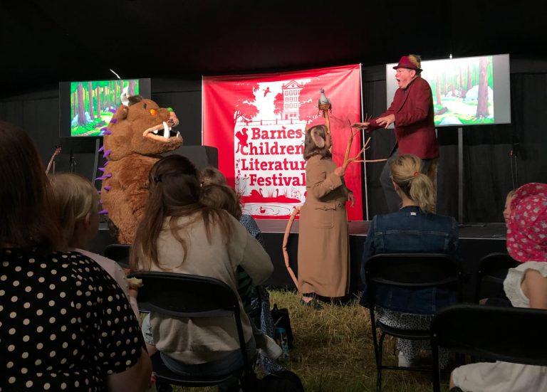 julia donaldson and friends at barnes festival
