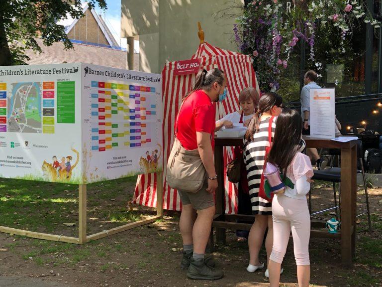 barnes kids literature festival information office